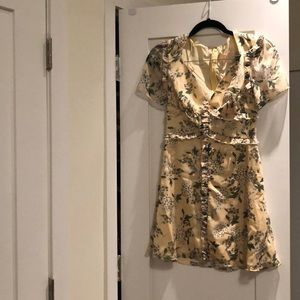 Keepsake the label yellow floral dress